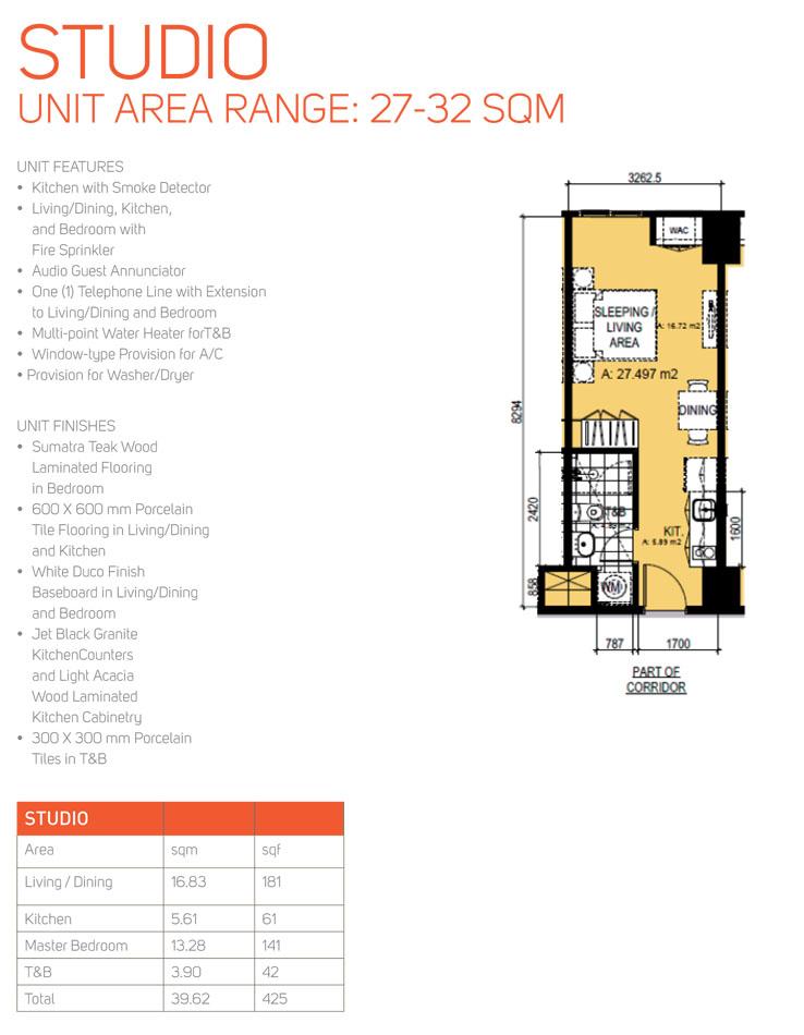 Kroma Tower Makati Studio 1br 2br For Sale Alveo Ayala