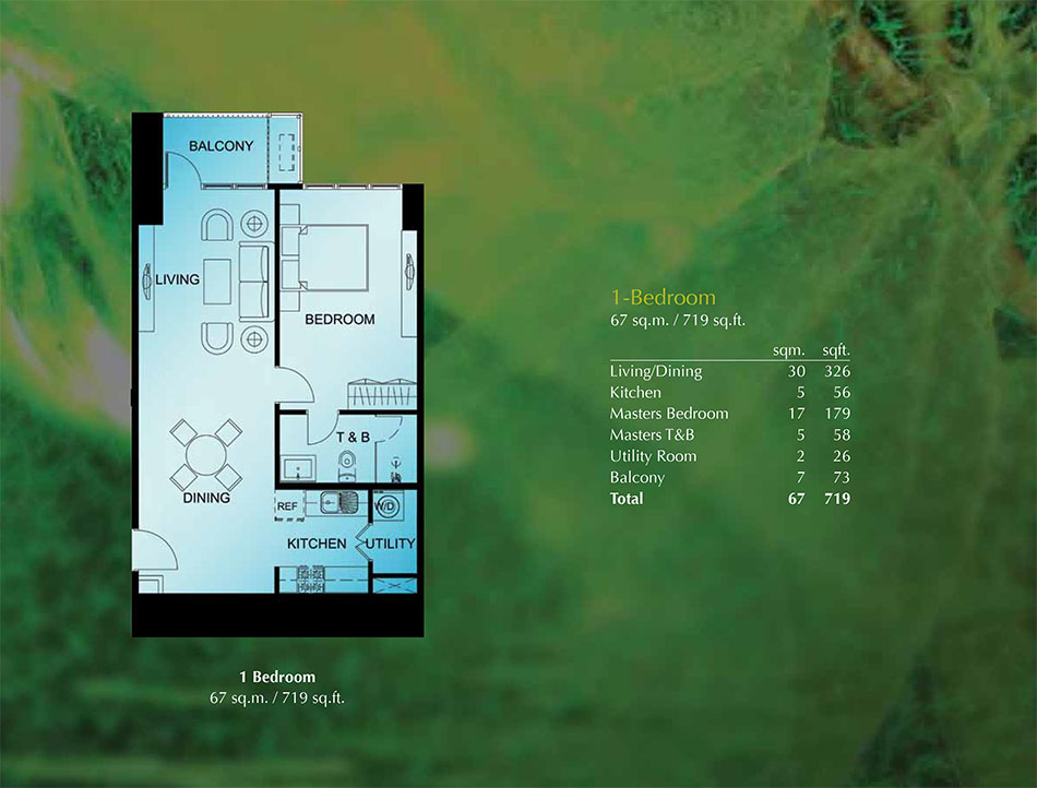 Sequoia Tower At Two Serendra Ayala Condo For Sale
