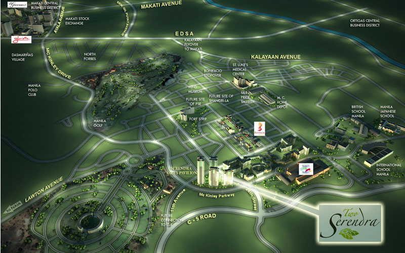 Sequoia Tower at Two Serendra - Ayala Condo For Sale